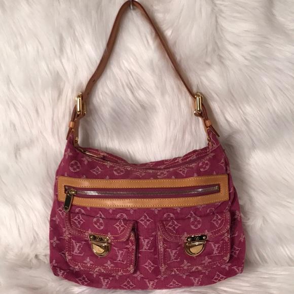 ee4708ce3dd 💯% Authentic Louis Vuitton Buggy PM shoulder bag